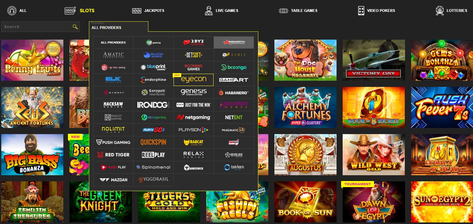 Booi Casino online