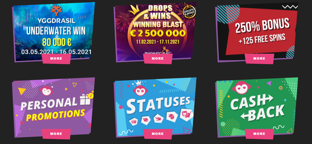 Booi Casino official Site