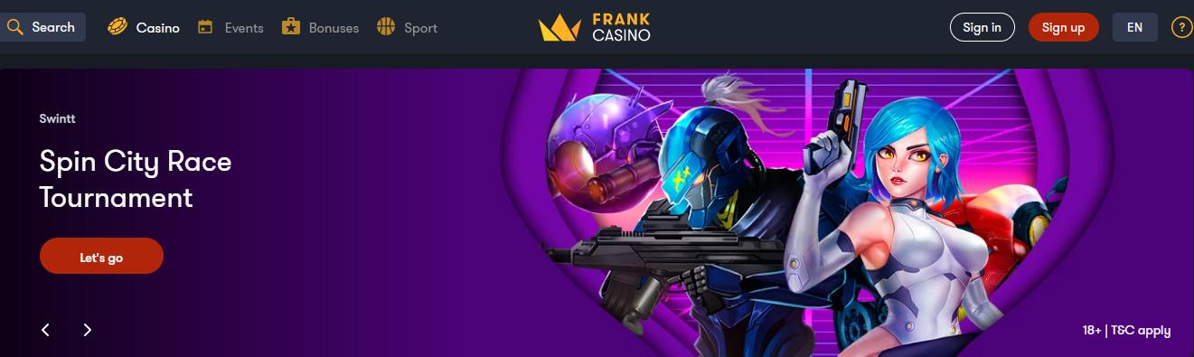 Frank Casino Official Site