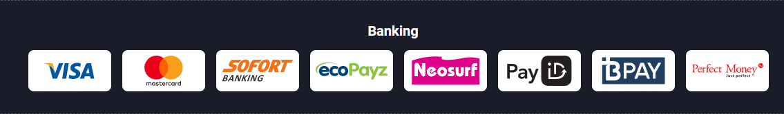 Deposits and withdrawals