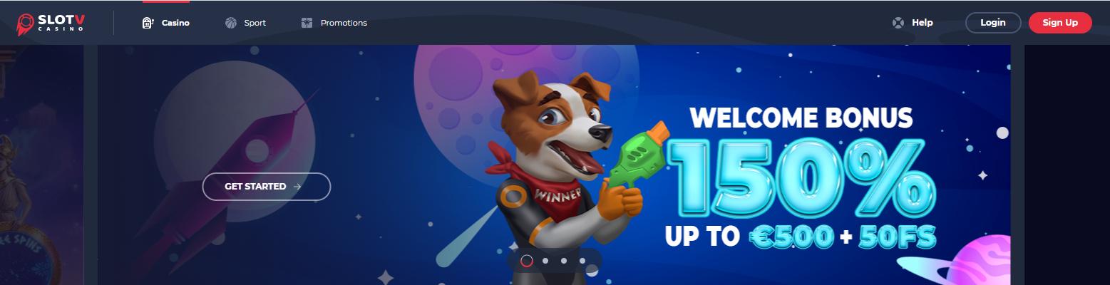 SlotV Casino Official Site