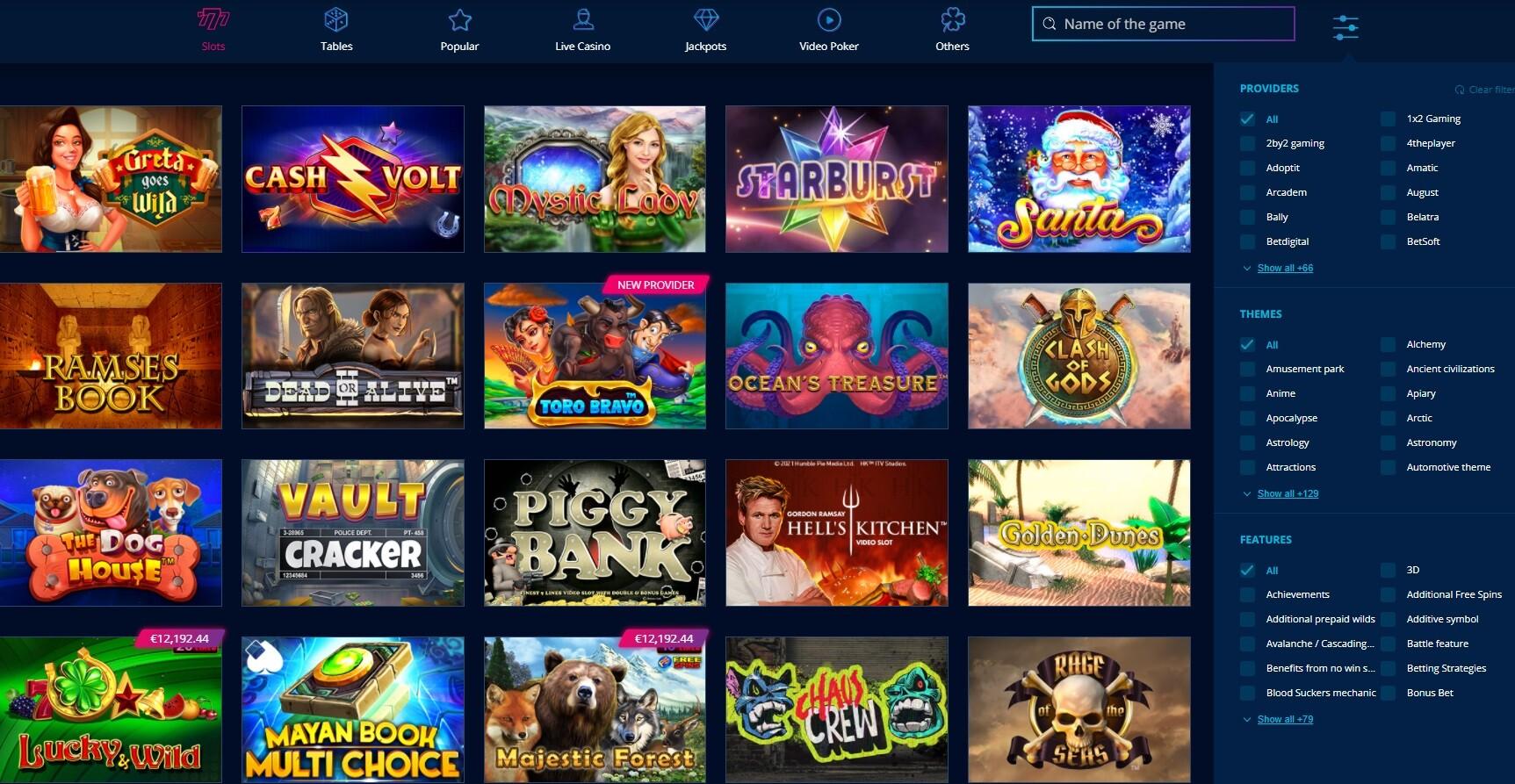 MrBit casino official site