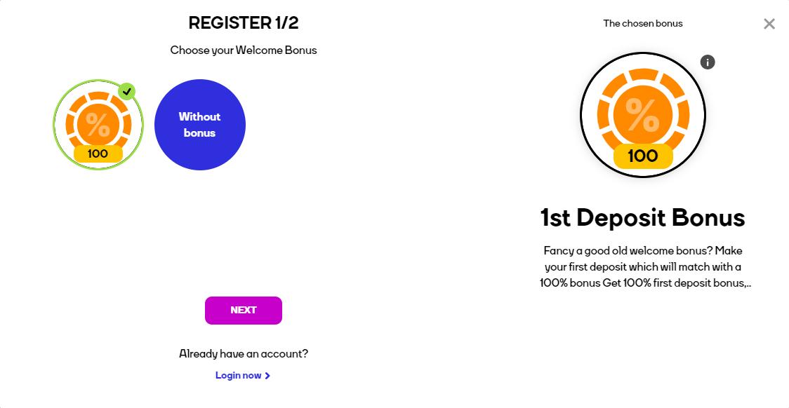 Registration At CatCasino